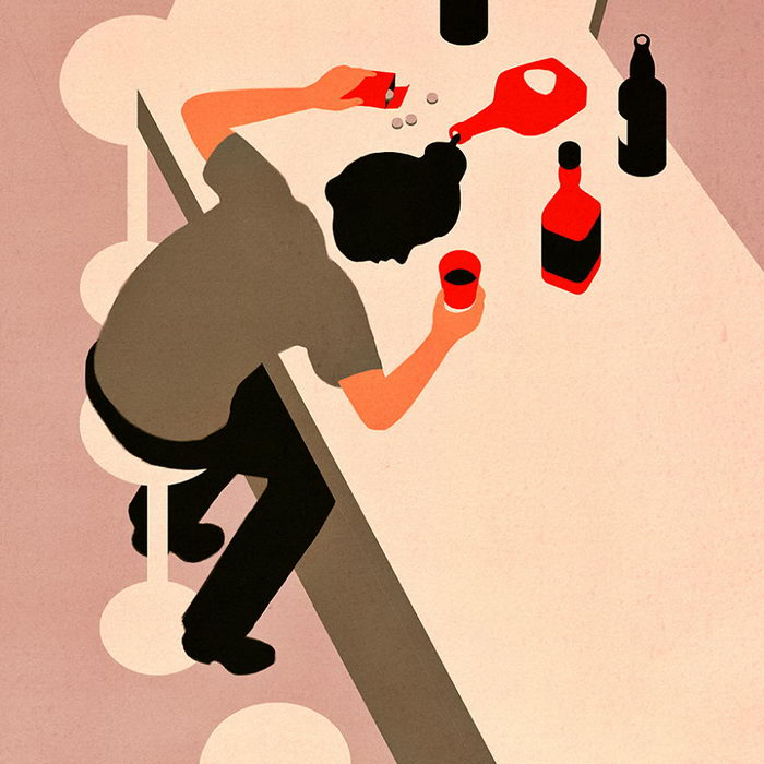 Ироничные иллюстрации Joey Guidone