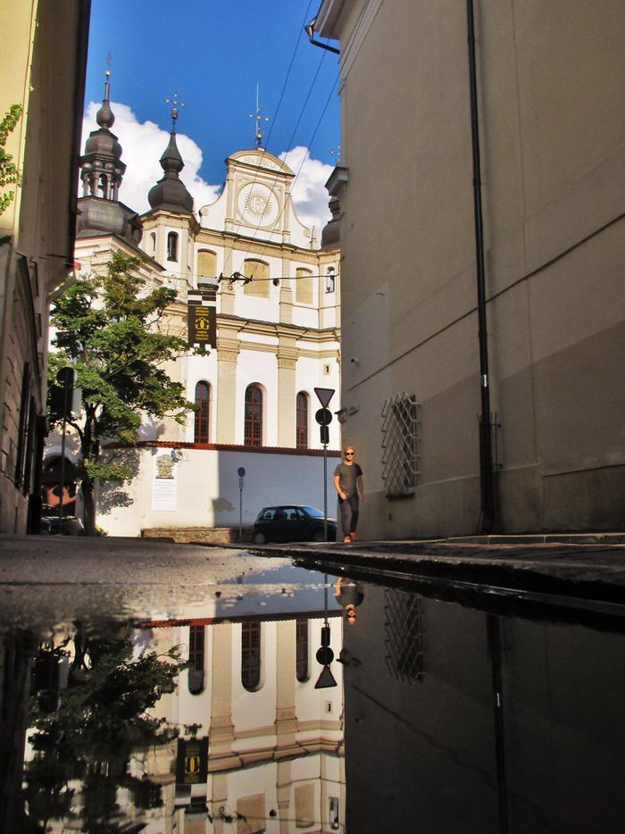 Вильнюс после дождя: фото Gy Tis
