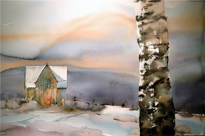 Акварельные картины Björn Bernström