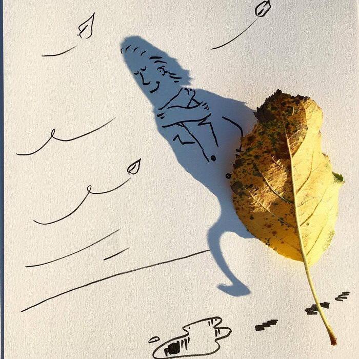 Тени как картинки: работы Vincent Bal