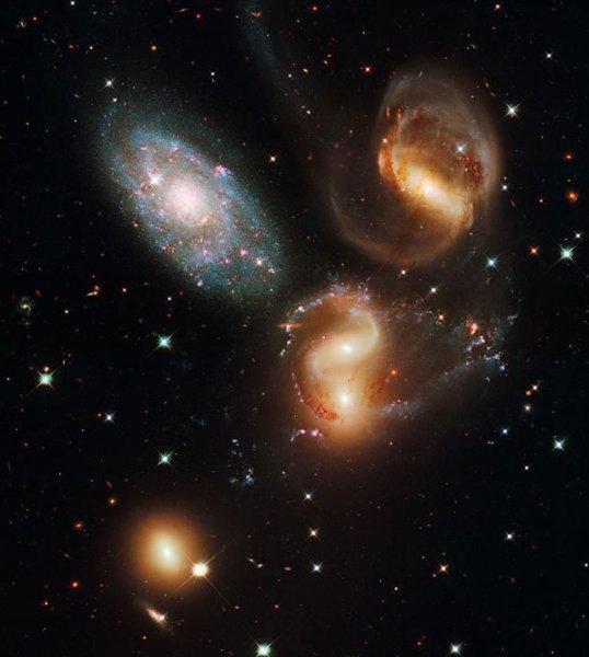 Прогулка просторами космоса