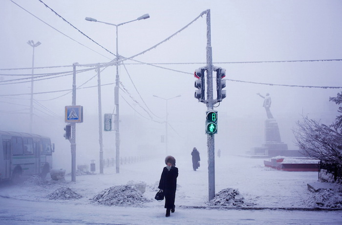 Зимний Оймякон