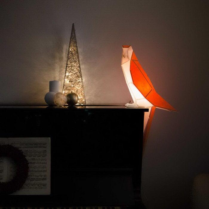Бумажные интерьерные светильники Hugo & Teresa