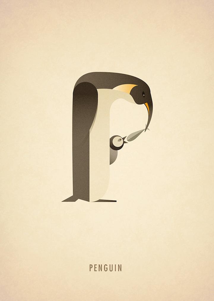 Забавный алфавит Marcus Reed