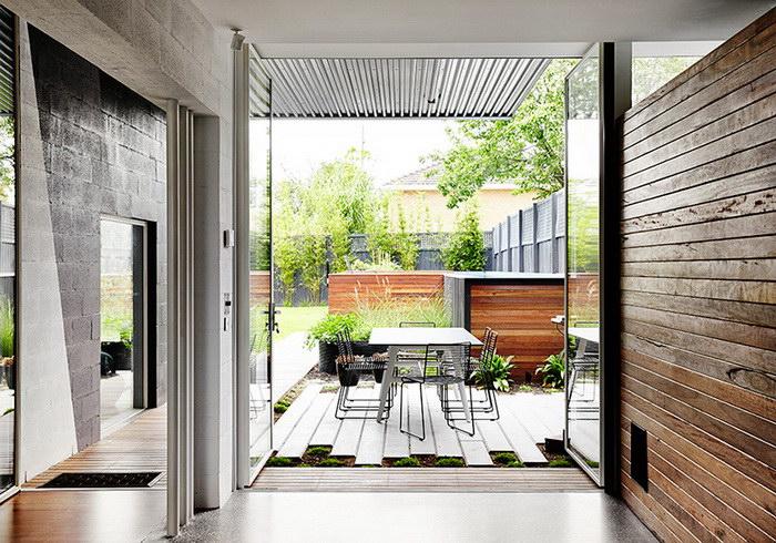Светлый дом на окраине Мельбурна