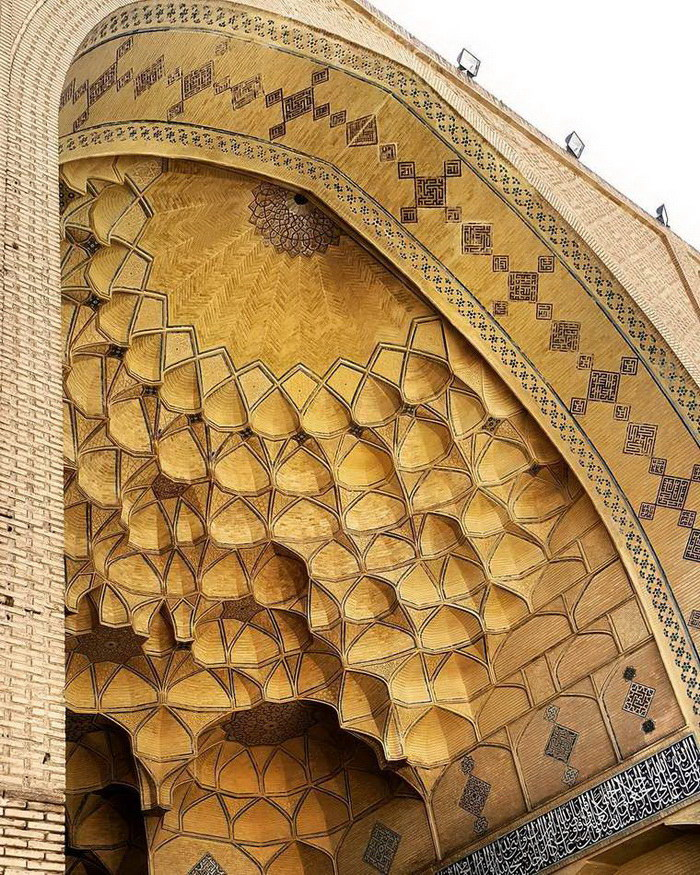 Узоры мусульманских мечетей: фотографии M1rasoulifard