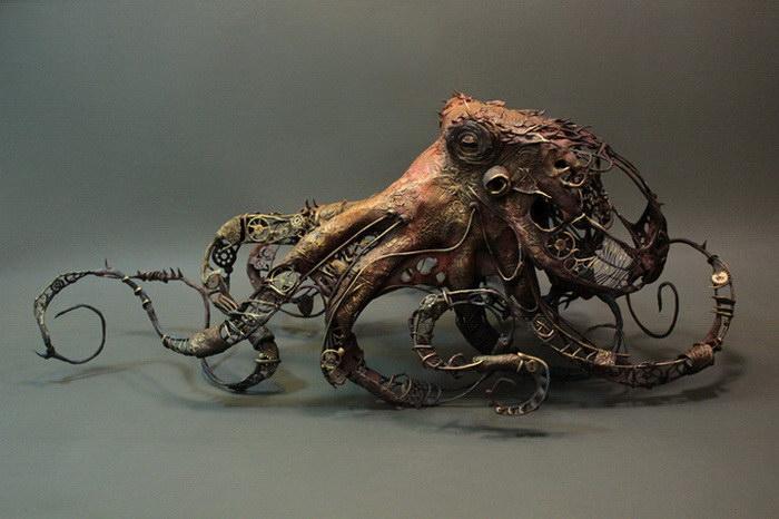 Сюрреалистические скульптуры Ellen Jewett