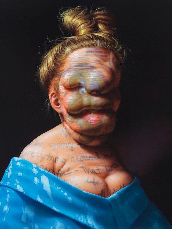 Гротескные картины Christian Rex van Minnen