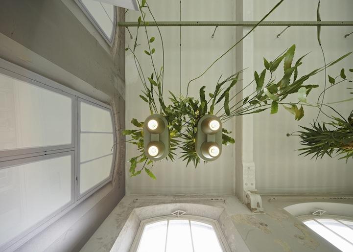 Зеленые лампы дизайна Roderick Vos