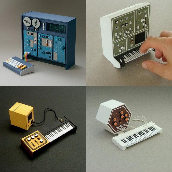 Миниатюрная аналоговая техника Dan McPharlin