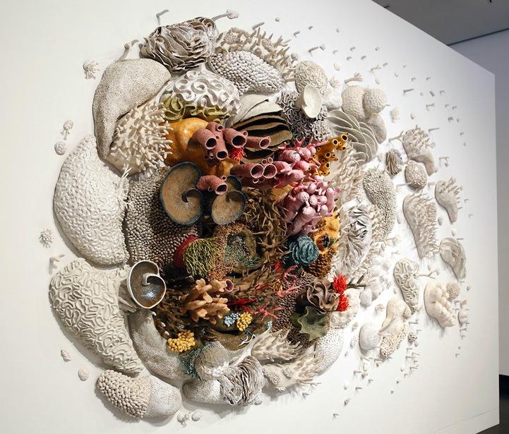 Скульптура коралла