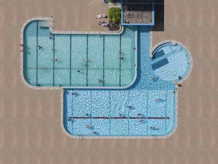 Бассейны в фотографиях Stephan Zirwes