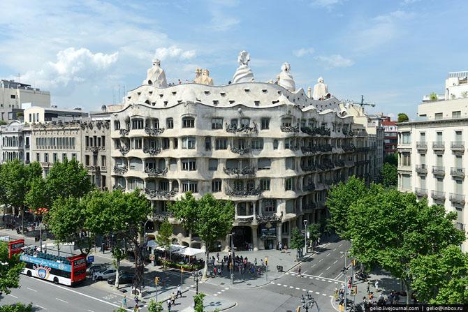 Прогулка по Барселоне