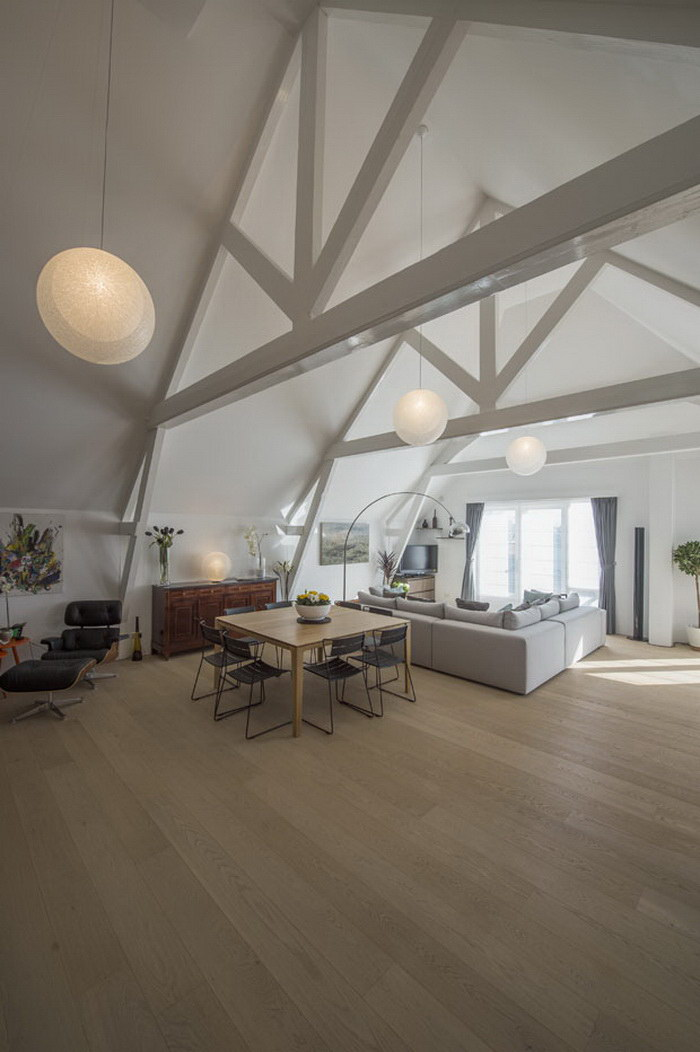 Просторная квартира в Роттердаме