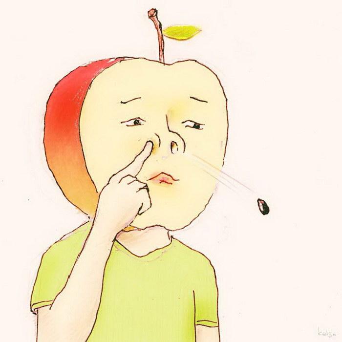 Новая серия иллюстраций художника Keigo