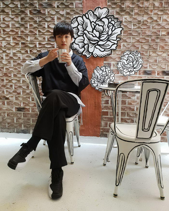 Кафе в Сеуле, выглядящее как рисунок