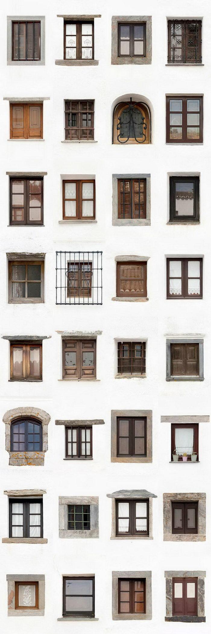 Окна в различных городах Португалии: проект Andre Vicente Goncalves