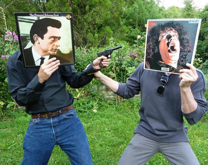 Продолжение музыкальных обложек: проект Sleeveface