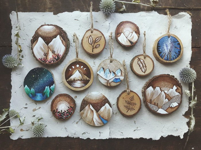 Рисунки по дереву Kimera Wachna