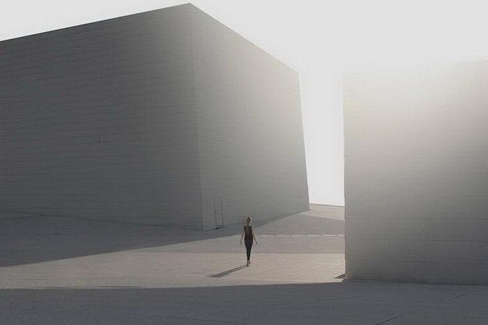 Одиночество в фотографиях Pawel Franik