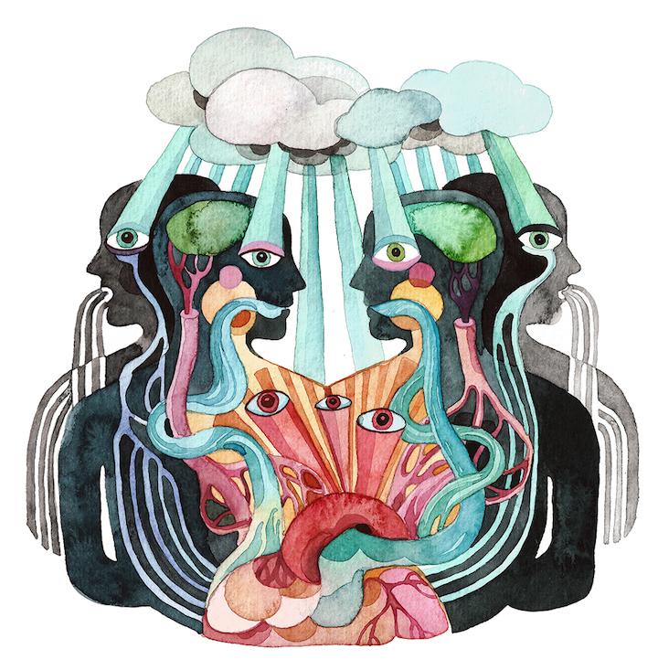 Необычные иллюстрации Gel Jamlang