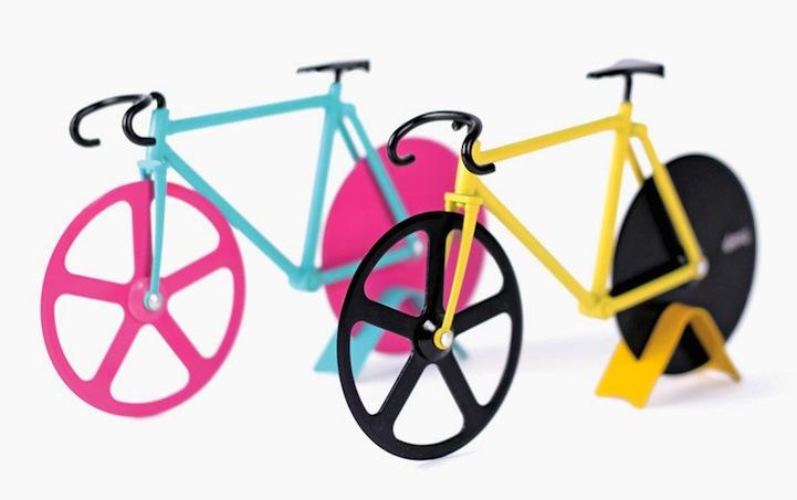 Необычная пиццерезка в форме велосипеда