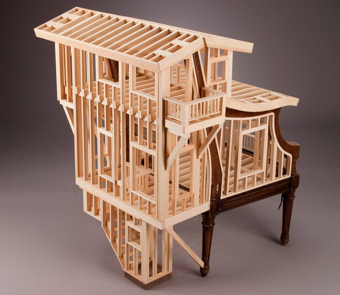 Архитектурные эксперименты Ted Lott