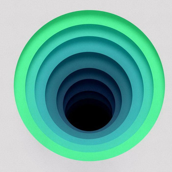 Абстрактные цифровые иллюстрации Zuzana Z