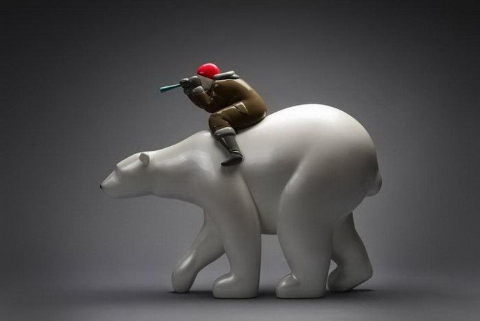 Забавные скульптуры Byun Dae-Yong