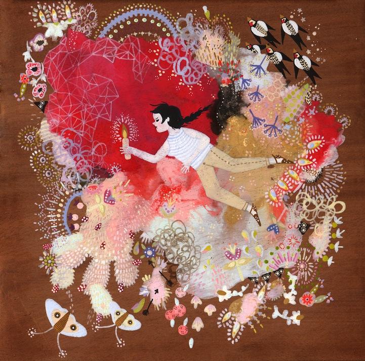 Красивые иллюстрации Rebecca Artemisa