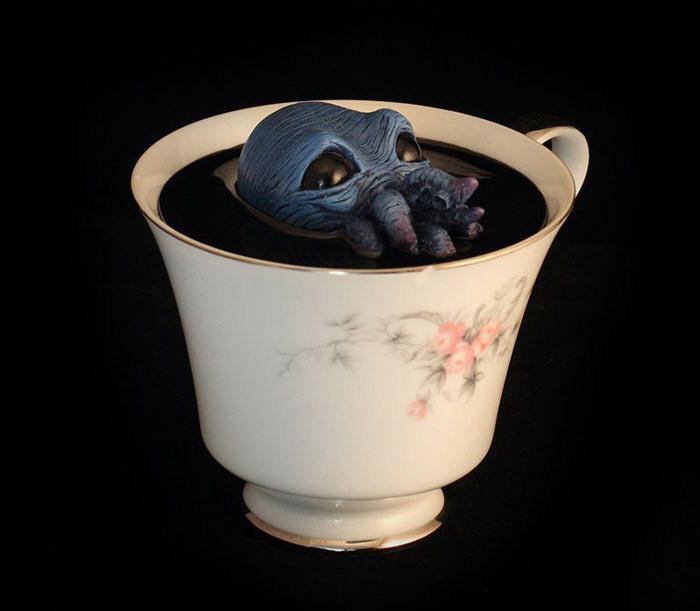 Чашки с монстрами Michael Palmer