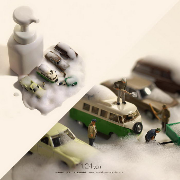 Календарь миниатюр: каждый день по новой работе