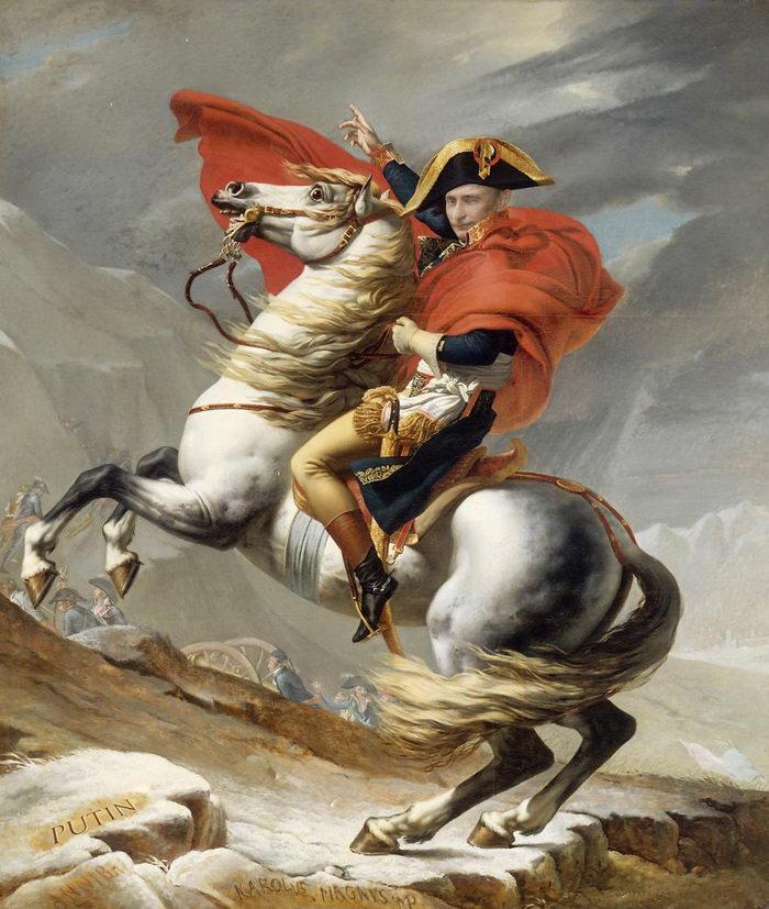 Политики в роли героев классических портретов
