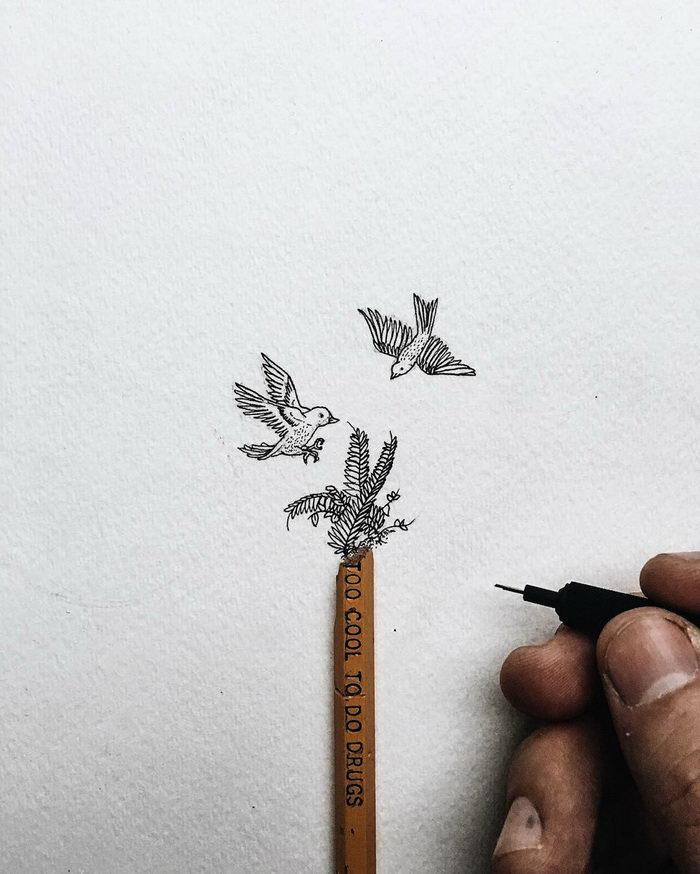 Малюсенькие рисуночки Christian Watson