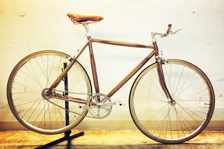 Модный велосипед PLYbike