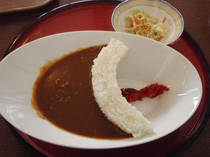 Рисовая плотина: красивое японское блюдо