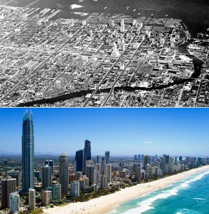 Как изменились известные города за последние года