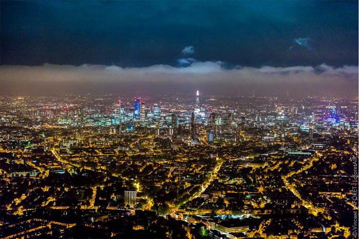 Ночной Лондон в фотографиях Vincent Laforet