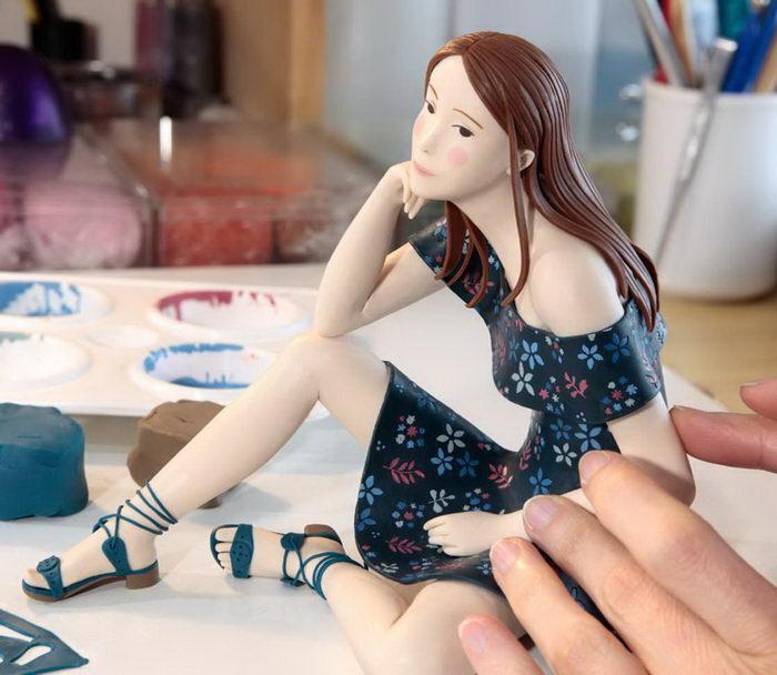 Скульптурные миры Irma Gruenholz