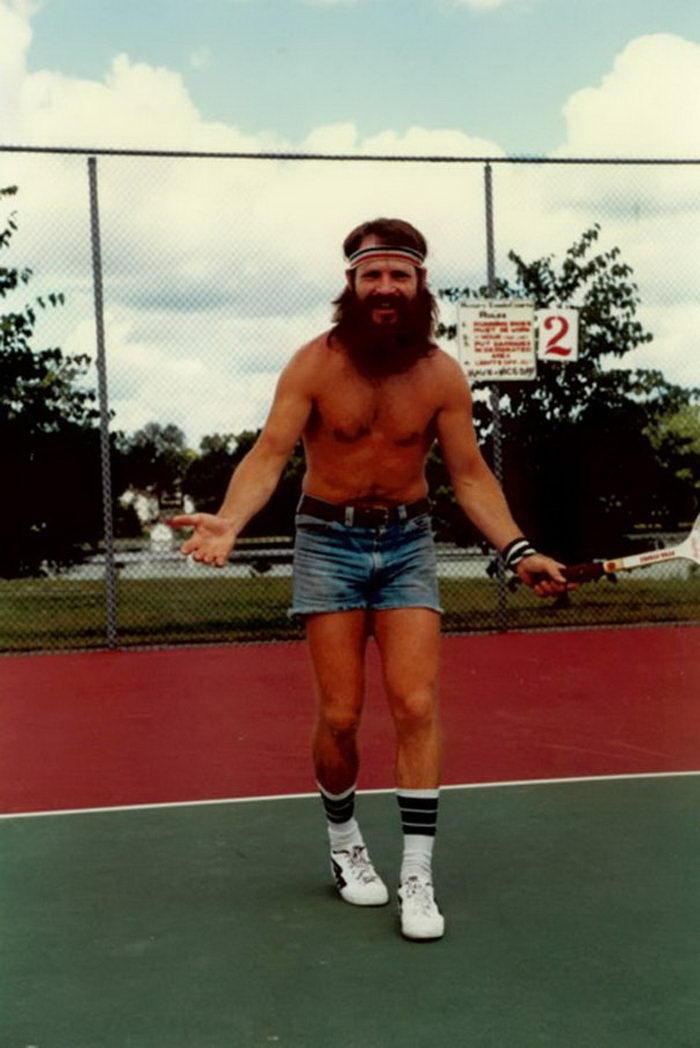 Мужские шорты 1970-х годов: короче не бывает