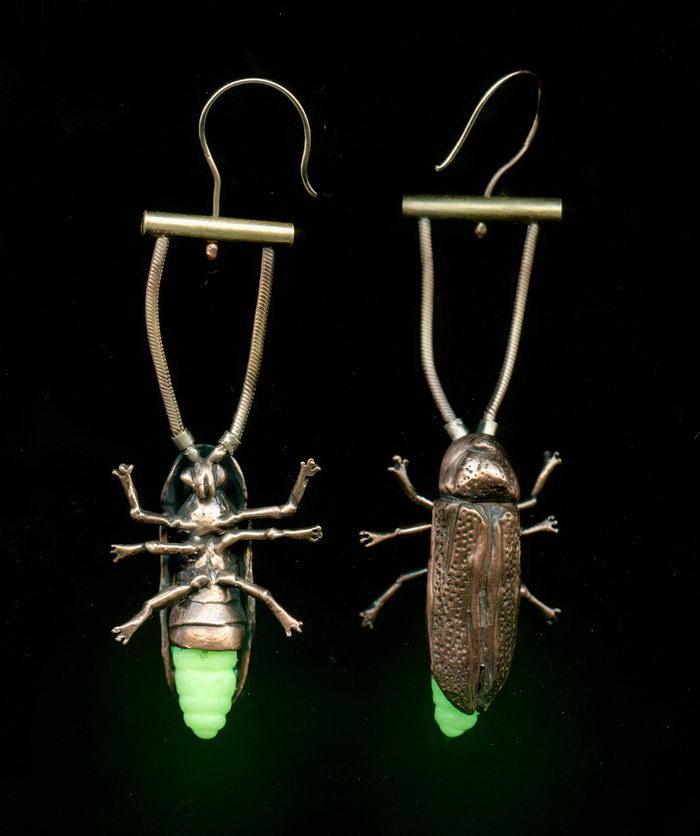 Украшения с насекомыми Alexis Pavlantos