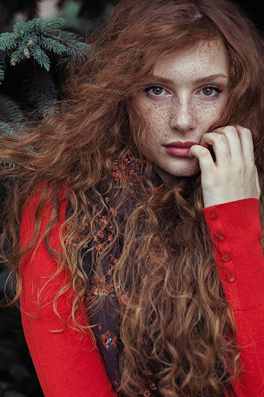 Рыжие девушки в фотографиях Maja Topčagić