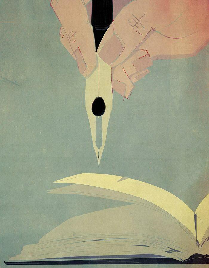 Концептуальные иллюстрации Andrea Ucini