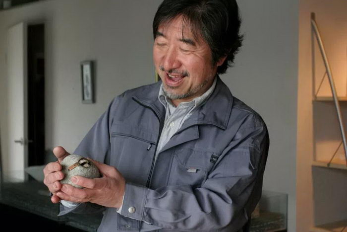 Каменные скульптуры Hirotoshi Ito