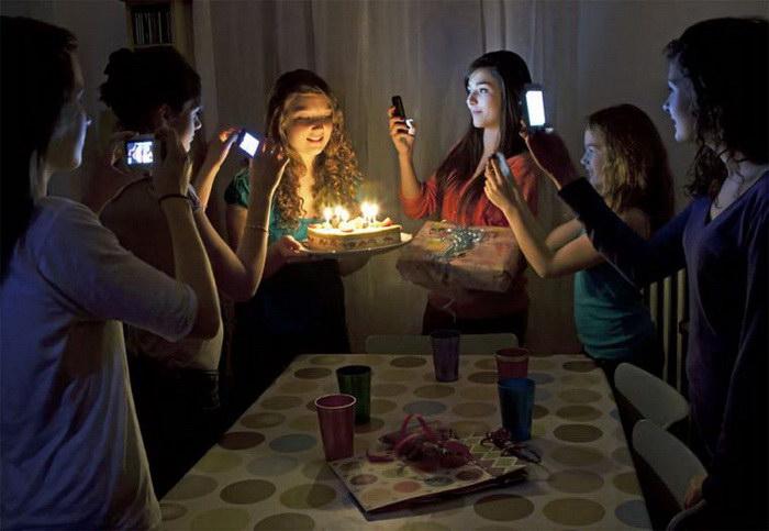 Фотопроект «В свете смартфона» Catherine Balet