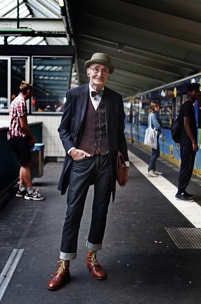 Самый модный пенсионер в мире: G?nther Krabbenh?ft