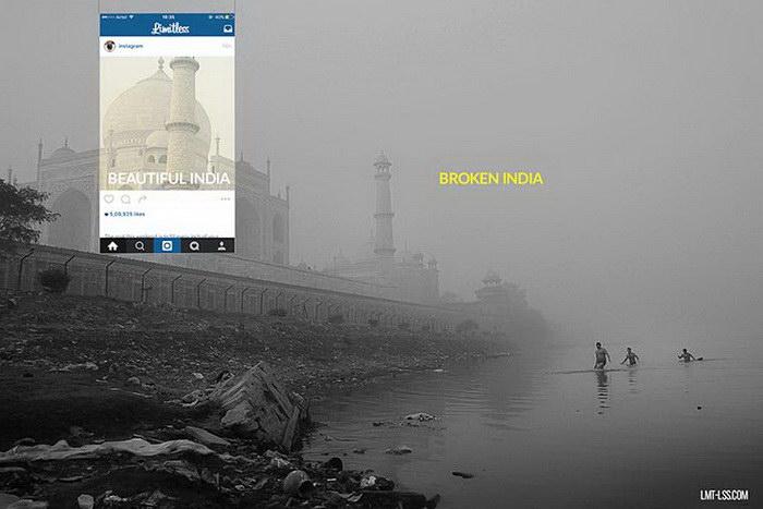 Индия: в Instagram и в жизни