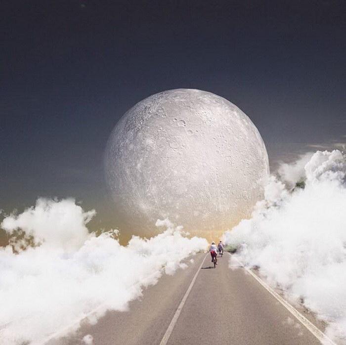 Инстаграм-сюрреализм в фотографиях Charlie Davoli