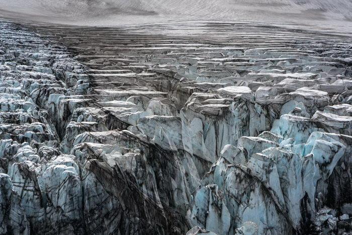 Пейзажи Исландии сверху: фотографии Stas Bartnikas