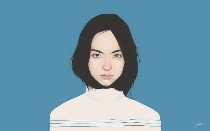 Женские портреты Yuschav Arly